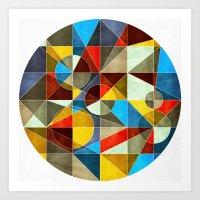 Circle Maker Art Print