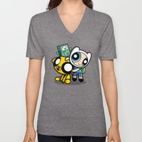 Adventure Puff Buds Unisex V-Neck