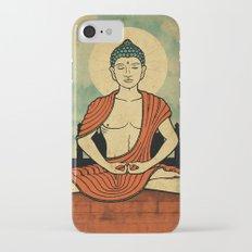 Meditating Buddha Slim Case iPhone 7