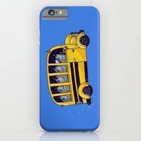 iPhone & iPod Case featuring Off to School by Alex Solis