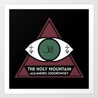 The Holy Mountain by Alejandro Jodorowsky Art Print