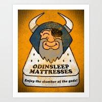 Odin - Odinsleep Mattres… Art Print