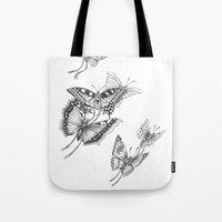 Fly Butterflies Fly Tote Bag