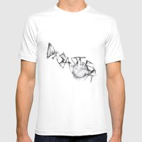 Disaster  Mens Fitted Tee White SMALL