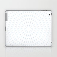 PCT2 Fractal In Ice Blue… Laptop & iPad Skin