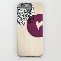 iPhone & iPod Case featuring Zebra shoes by monrix