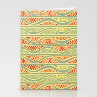 Peapods - Folk Stationery Cards