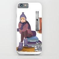 I Love Winter iPhone 6 Slim Case
