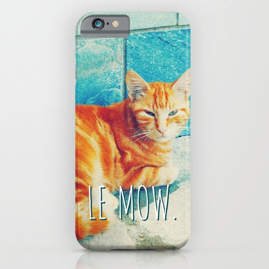 French Cat Is French. iPhone & iPod Case