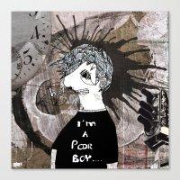 Poor Boy Canvas Print