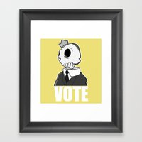 Politico Framed Art Print