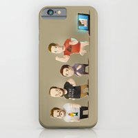 iPhone & iPod Case featuring IG Lineup by Fightstacy