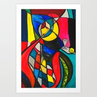 Within The Circle Art Print
