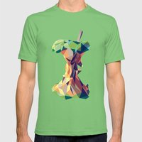 Keep Thinking Different. Mens Fitted Tee Grass SMALL