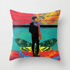 Danaus Throw Pillow