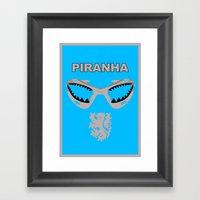 Edgar Davids - Piranha Framed Art Print