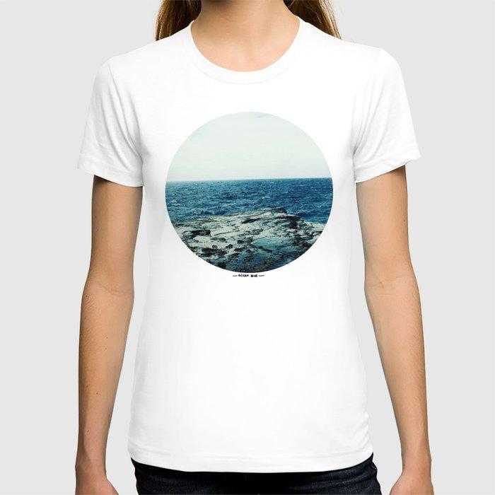 Ocean blue t shirt by leah flores society6 for Ocean blue t shirt