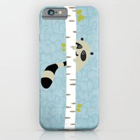 A shy raccoon iPhone 6 Slim Case