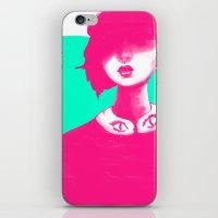 Contemporary Collar iPhone & iPod Skin