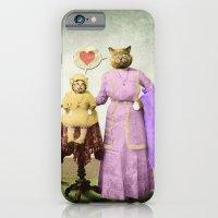 Momma Kitty Loves Her Kitten iPhone 6 Slim Case