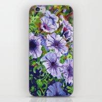 Purple Petunias  iPhone & iPod Skin