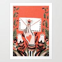 Love Letter Art Print