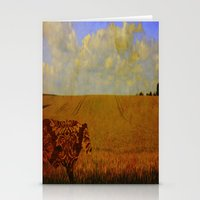 I Am A Vintage Cow Stationery Cards