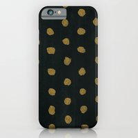 iPhone & iPod Case featuring GOLD DOTS by natalie sales