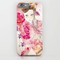 watercolor garden  iPhone 6 Slim Case