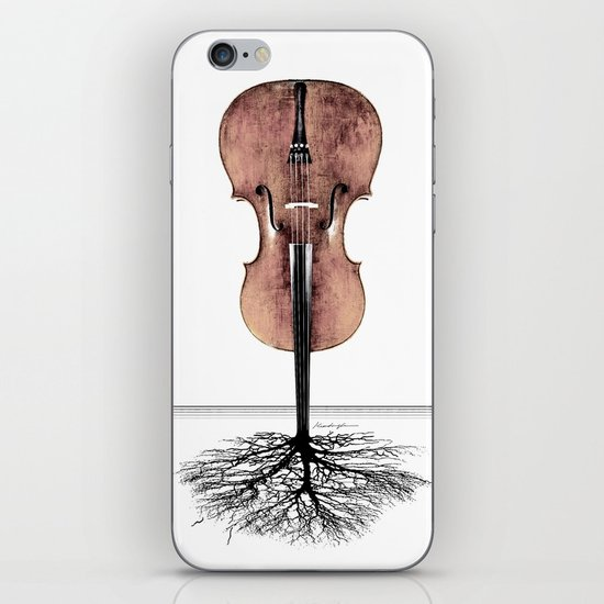 Rooted Sound II iPhone & iPod Skin