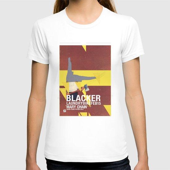 Mary Chain & Blacker band poster T-shirt