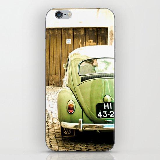 Mrs Olive Green iPhone & iPod Skin