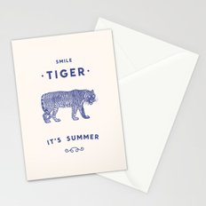 Smile Tiger, it's Summer Stationery Cards