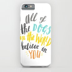 All Of The Dogs In The W… iPhone 6 Slim Case