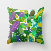 Between The Branches. II… Throw Pillow