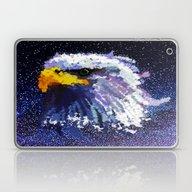 Bald Eagle Pop Art  Laptop & iPad Skin