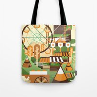Let's Camp, Shall We? Tote Bag