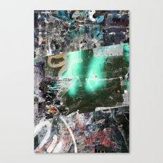 Collide 12 Canvas Print