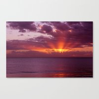 Let The New Day Lift You… Canvas Print