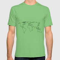 WORLD II Mens Fitted Tee Grass SMALL
