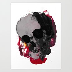 Off with my head  Art Print