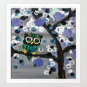 ::Gemmy Owl Weather's the Storm:: Art Print