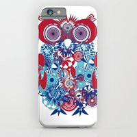 iPhone & iPod Case featuring SPIRO OWL by TeeLou