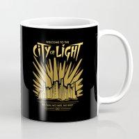 Welcome to the City of Light Mug