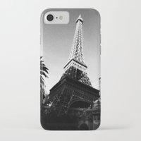 eiffel iPhone & iPod Cases featuring Eiffel by Melynda Nichole