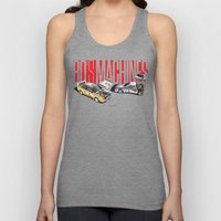 80's Machines Unisex Tank Top