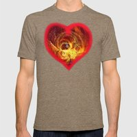 Treasure Mens Fitted Tee Tri-Coffee SMALL