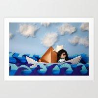 Troy Marinera ~ Sailor Art Print
