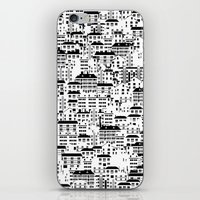 Shanghai wallpaper iPhone & iPod Skin