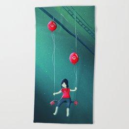 Beach Towel - I had a Dream - Schwebewesen • Romina Lutz